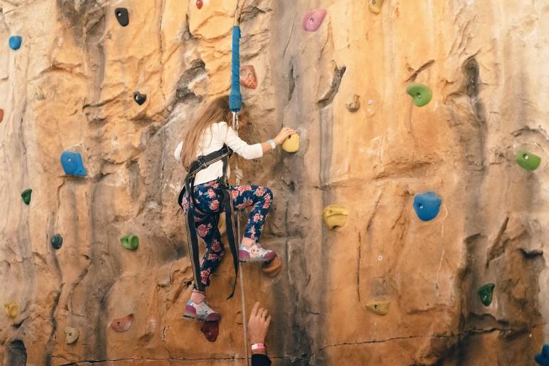 perete de escalada Divertiland