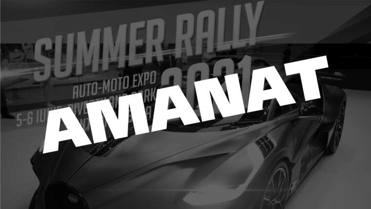 Summer Rally 2021 Auto-Moto Expo
